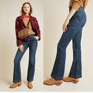 Pilcro High-Rise Utility Bootcut Jeans